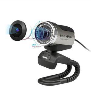 WEBCAM 1080 P HD Webcam avec Built-In anti-Bruit Micropho
