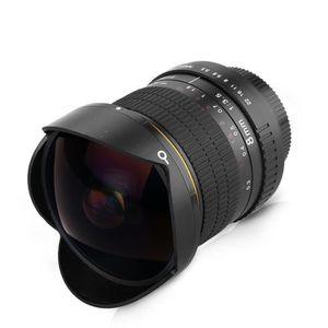 OBJECTIF Objectif Lightdow 8mm F/3.5 Fisheye Lentille Circu