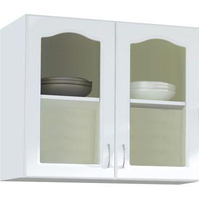 Meuble haut de cuisine style contemporain 100 cm avec 2 portes ...