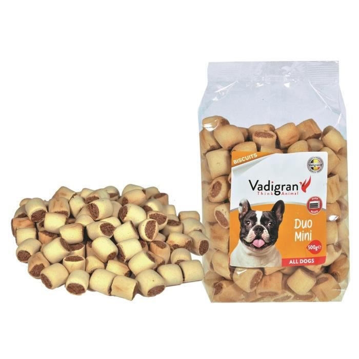 VADIGRAN Biscuits Duo Mini - 500 g - Pour chiens