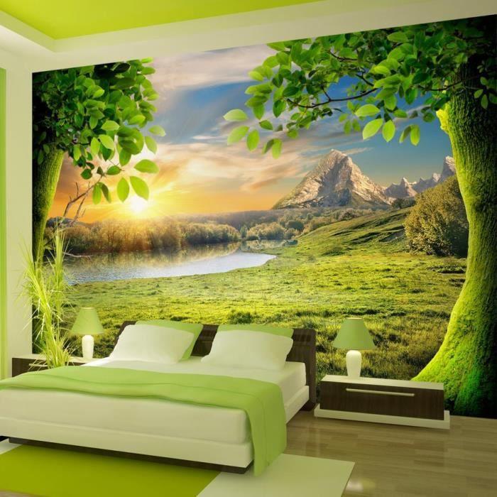 affiche g ante poster xxl nature 350x245 cm 7 l s achat vente papier peint affiche. Black Bedroom Furniture Sets. Home Design Ideas