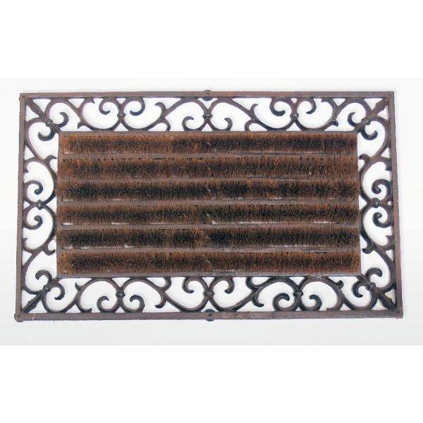 paillasson brosse tapis en fonte pour ext rieur achat. Black Bedroom Furniture Sets. Home Design Ideas