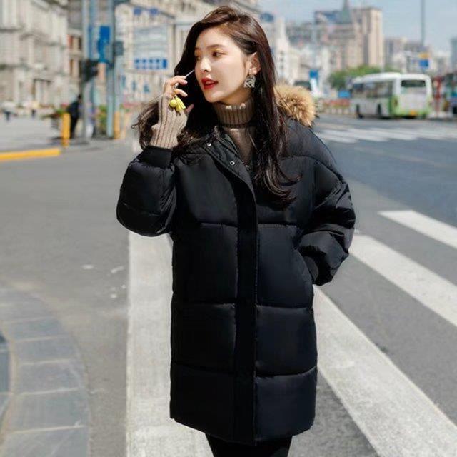 Fourrure Taille Col De Capuche Mode Épaissir Manteau Grande Longue Blouson Hiver Avec Femme Vêtement Milieu Doudoune xq7Xnzw0Xf