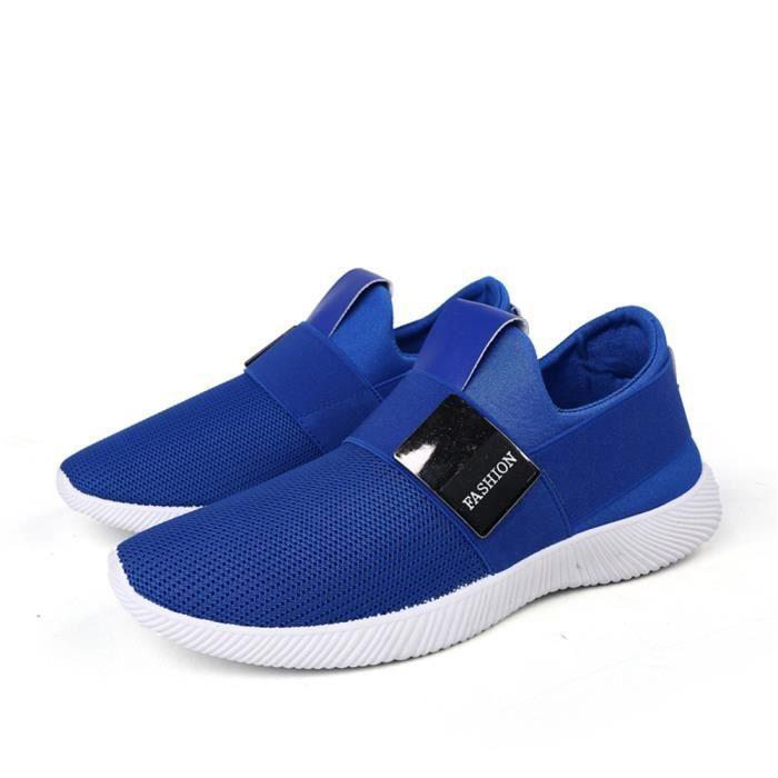 Chaussures homme Marque De Luxe Mocassins Respirant Mocassin hommes Haut qualité Confortable Nouvelle Mode Grande Taille bleu 39-44 hkcmBWu