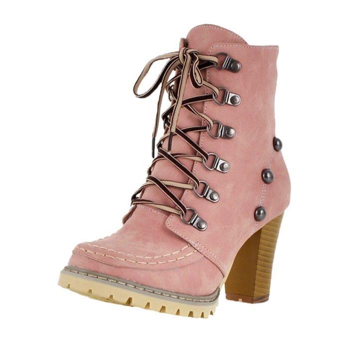BOTTE Loisirs Rivets Chaussures femme non-Slip à lacets
