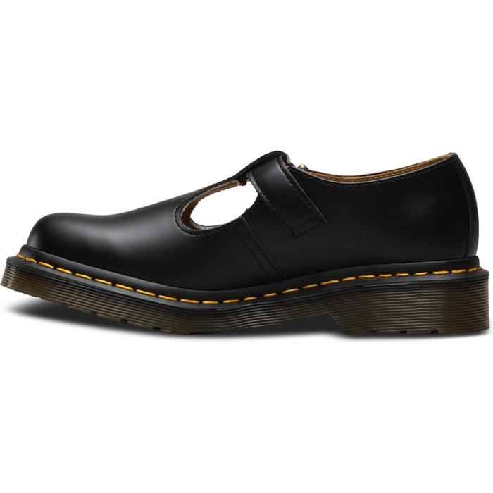 Dr Womens Smooth Martens Martens Polley Shoes Dr rTqXvr