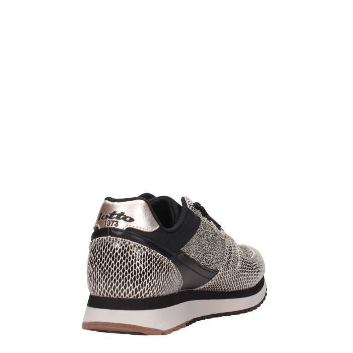Lotto Leggenda Sneakers Femme Noir, 39