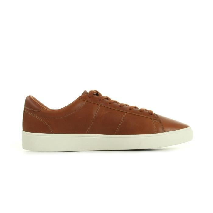 Baskets Fred Perry Spencer Leather Tan