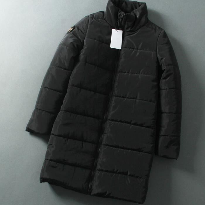 Bas D'hiver Long Dames Outwear Chaud Femmes Vers Veste noir Manteau Doudoune Le Parka Matelassée Coton SqX5nw