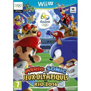 JEU WII U Mario & Sonic aux JO Rio 2016 Jeu Wii U