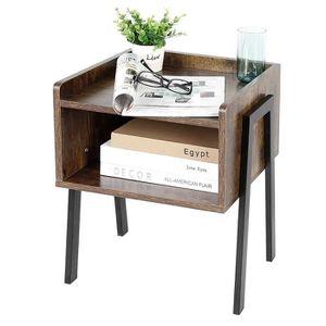 TABLE D'APPOINT LUXS Table de chevet Petit Tabled'Appoint Meuble d