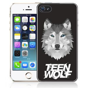 COQUE - BUMPER Coque iPhone 5 - 5S - SE Teen Wolf Loup Origami