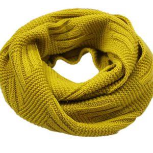 ECHARPE - FOULARD Napoulen®écharpe Femmes mode chaud tricot cou cerc 354af6b27be