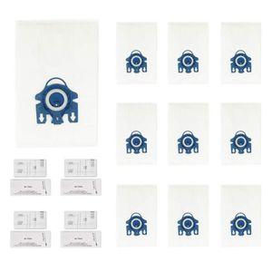 SAC ASPIRATEUR Green Label Kit de Sacs Aspirateur : 10 Sacs + 4 F