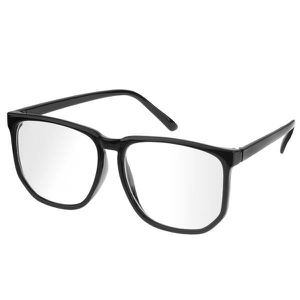 95e373db528855 LUNETTES DE SOLEIL lunettes carrées de style rétro avec lentilles cla ...