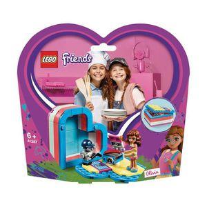 ASSEMBLAGE CONSTRUCTION LEGO® Friends 41387 La boîte cœur d'été d'Olivia