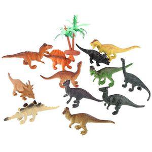 Toys & Hobbies Nice Petit Sachet De Figurines Dinosaures En Plastique 8 Pièces Action Figures