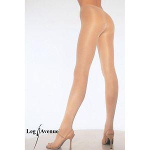 COLLANT SEXY Collant Chair Voile Transparent Leg Avenue Chai… 00f687825f3