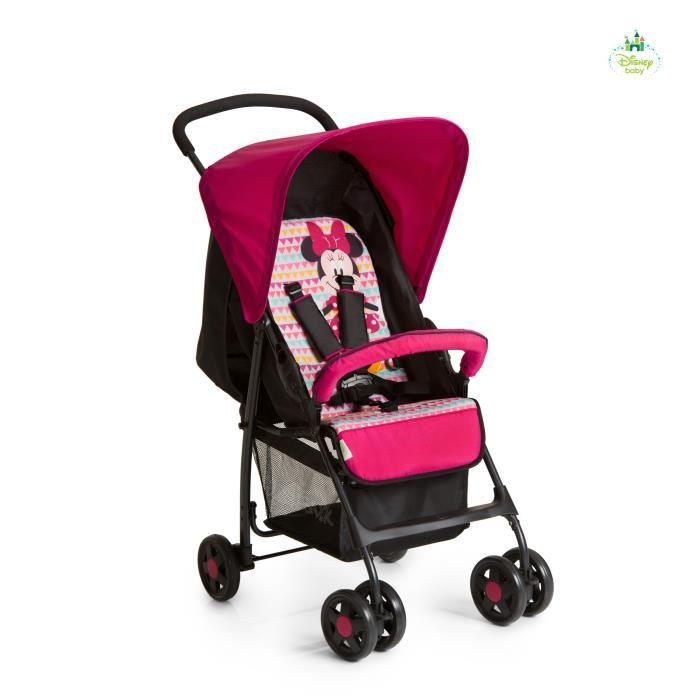 POUSSETTE  HAUCK - Poussette Sport Minnie Geo pink