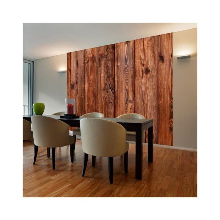 Papier Peint Imitation Bois   Dimension   400x309.   Achat / Vente