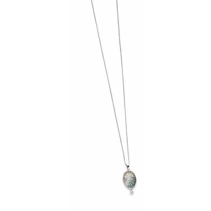 Elements - P4010b - Collier Femme - Argent 925-1000 2.17 Gr - Oxyde De Zirconium Z8P0R