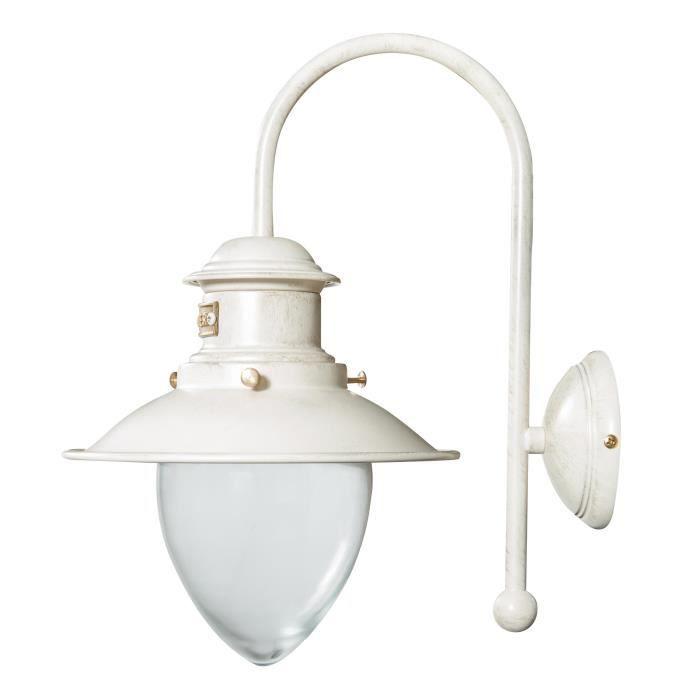 Lampe Applique Murale En Style Vieillie Marine En Fonte De Laiton