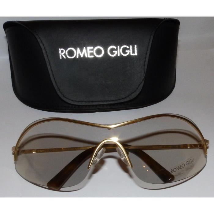LUNETTES DE SOLEIL ROMEO GIGLI Or - Achat   Vente lunettes de soleil ... 609bd234563e