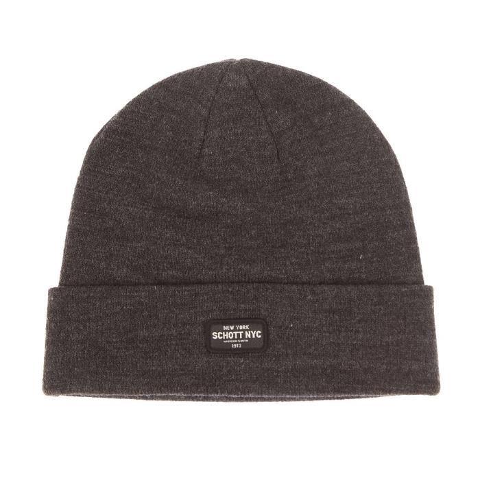 grande vente de liquidation en ligne à la vente plus grand choix de Bonnet Schott NYC GRIS - Achat / Vente bonnet - cagoule ...