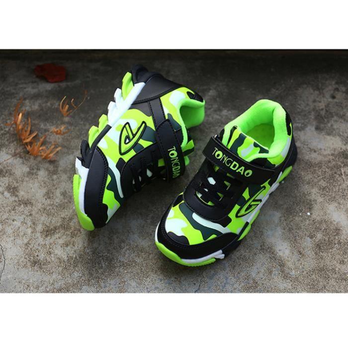 chaussures de Basket garçons hiver chaussures Jeunes garçons chaussures occasionnelles Chaussures de sport L'extérieur de la