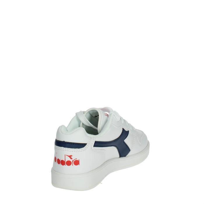 Diadora Petite Sneakers Garçon Blanc/Bleu, 38