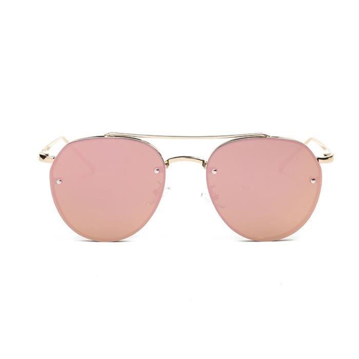 flocons lunettes Colorful soleil cadre Marine fashion métallique de YKS de feuille ZFRqWP