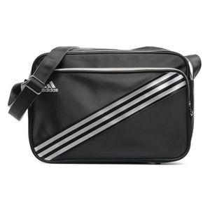 44c5675bd3 Sac Adidas Enamel 3 Stripes Noir et Argent - Prix pas cher - Cdiscount