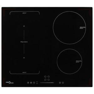 PLAQUE INDUCTION Plaque de cuisson à induction 4 brûleurs Contrôle