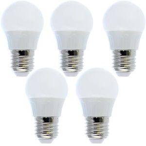 AMPOULE - LED 5 Ampoules LED E27 blanc froid 5W=40W
