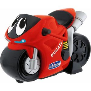 VOITURE - CAMION CHICCO Moto Turbo Touch Ducati Rouge