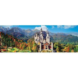 PUZZLE Puzzle 1000 pièces panoramique : Neuschwanstein ai