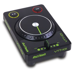 TABLE DE MIXAGE DJ TECH CONTROLEUR DE LOGICIEL USB AVEC CROSSFA…