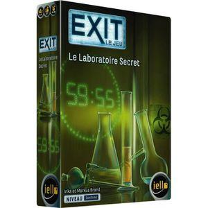 JEU SOCIÉTÉ - PLATEAU IELLO Exit Laboratoire secret