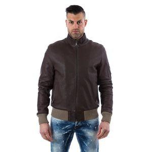 new styles bc1e1 d7c1b bomber-couleur-marron-fonce-blouson-cuir-homme-s.jpg