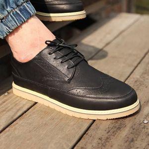 chaussures multisport Homme Marque Sport Outdoor de haute qualité Slip respirant de printemps noir taille6.5 tddZh