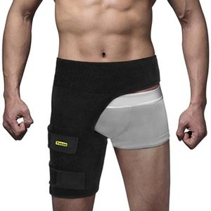 PROTÈGE-JAMBE - CUISSE yosoo l'Aine Support réglable Hip Groin Hamstring