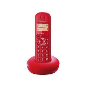Téléphone fixe Téléphone sans fil Panasonic KX-TGB 210 Rouge