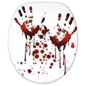ABATTANT WC Abattant WC frein de chute soft close Blood Hands