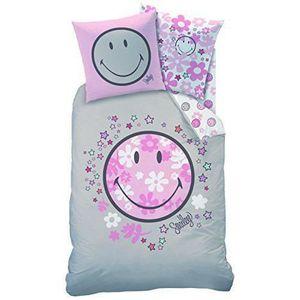 housse de couette smiley achat vente pas cher. Black Bedroom Furniture Sets. Home Design Ideas