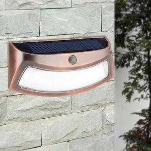 APPLIQUE EXTÉRIEURE Applique murale solaire - 5 LED lumière énergie so. ‹› 18d411cadabd