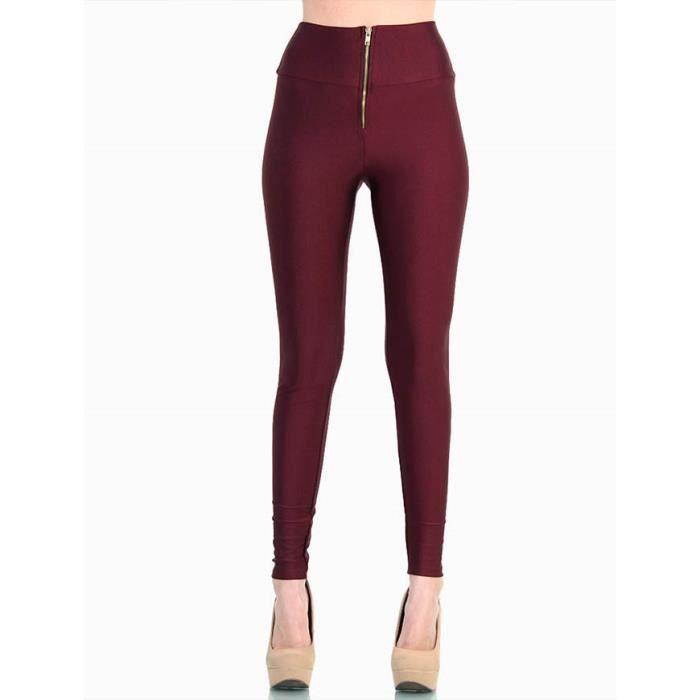 100% authentique les clients d'abord qualité authentique Legging femme Rouge bordeaux MOLA Rouge - Achat / Vente ...