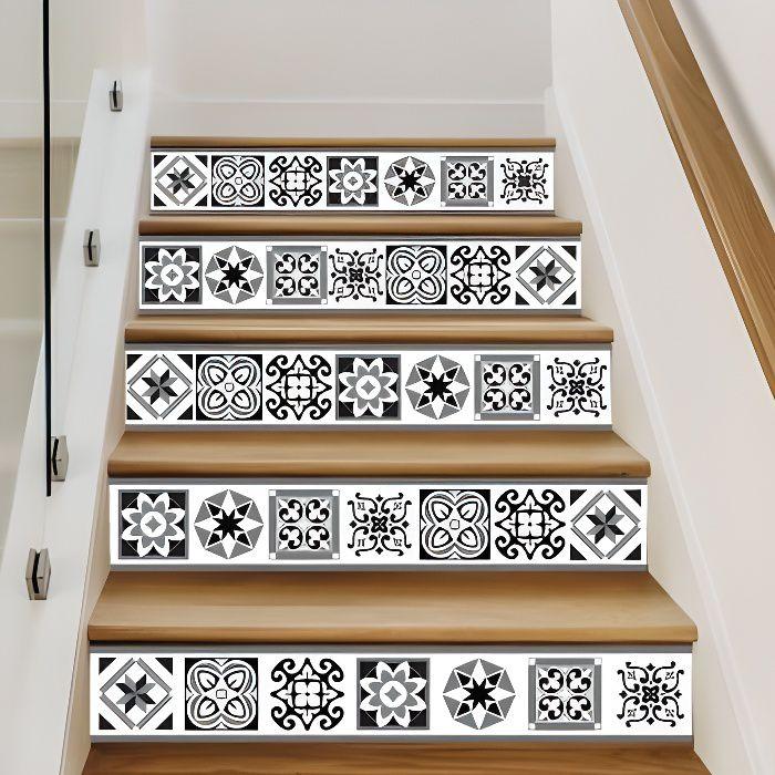 Adhesif Contremarche Lot De 4 Risertiles Adhesif Pour Escalier