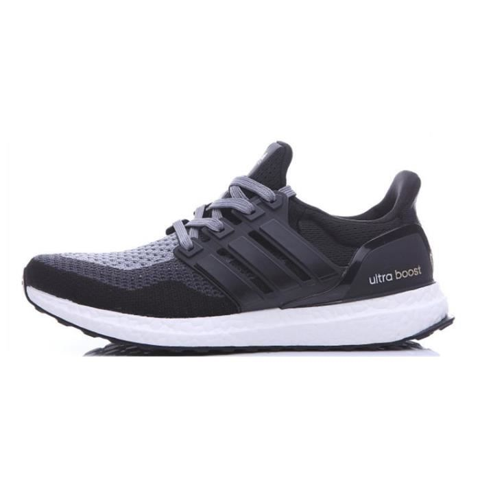 online store d6aa6 d5513 ... where to buy adidas ultra boost chaussures de running entrainement homme  noir blanc gris d0db5 171ab