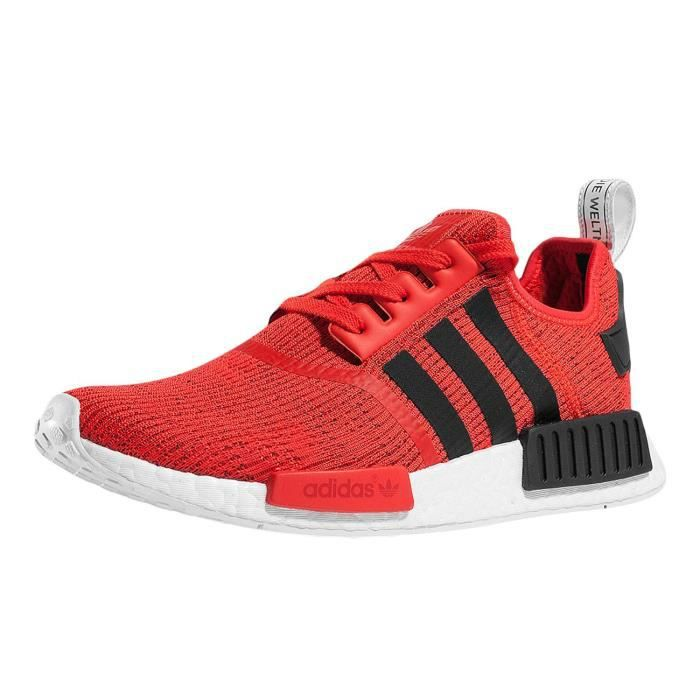 Femme Nmd Achat Chaussures Rouge Baskets Adidas R1 vnm0Oy8NwP