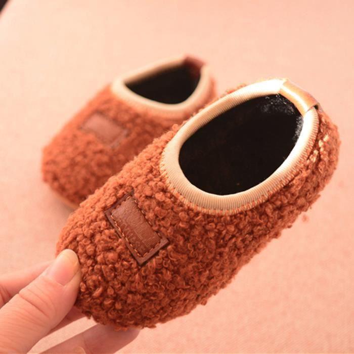 Les nouveau-nés Cartoon troupeau chaud bébé Chaussures Filles Bottes Sneakers
